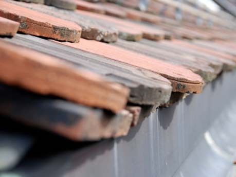 Pokrycie dachowe starego domu