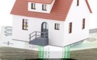 Dom postawiony na pieniądzach
