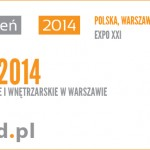 Główne logo tegorocznych targów budownictwa - Warsaw Build 2014
