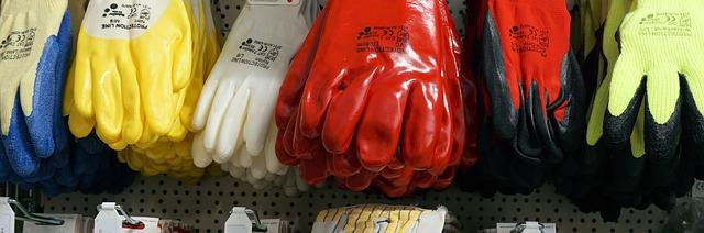 Rękawice ochronne, robocze, spawalnicze, itd. w hurtowni BHP